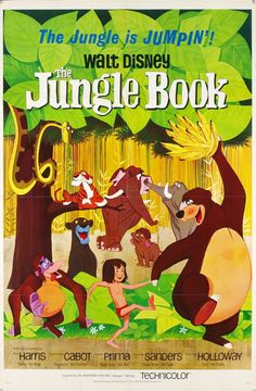Awesome #Disney posters The Jungle Book