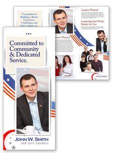 Political Campaign Brochure Designs | political campaign tri fold ...