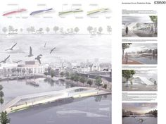 Amsterdam Pedestrian Bridge Proposal / Francesco Piffari