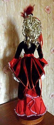 любимые вещи handmade: Моя первая кукла!