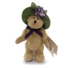 Boyds Bears Plush Lilac Lefleur Teddy Bear