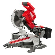 Woodworking Circular Saw Milwaukee FUEL Lithium-Ion Brushless Cordless 10 in. Dual Bevel Sliding Compound Miter Saw Kit Battery - Sliding Mitre Saw, Sliding Compound Miter Saw, Compound Mitre Saw, Circular Saw Reviews, Best Circular Saw, Milwaukee Tools, Milwaukee M18, Drill, Shopping