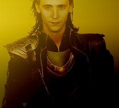 Tom Hiddleston as Loki. Yum...