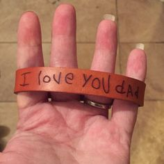 Handwriting Bracelet, Custom Handwriting Laser Engraved on our Handmade Leather Bracelet, Handwriting Gift from a Loved Ones Signature Custom Leather Bracelets, Leather Jewelry, Leather Conditioner, Cross Jewelry, Sentimental Gifts, Vegetable Tanned Leather, Men Necklace, Gifts For Husband, Laser Engraving