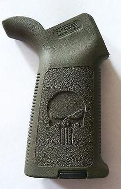 Magpul Moe Pistol Grip Punisher OD Green Ergo Blackhawk Hogue   eBay