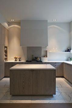 keuken vloer marmer