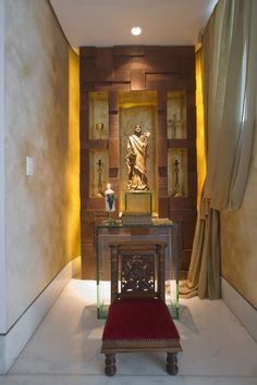 Oratórios e arte sacra na decoração - veja ideias para montar um cantinho de meditação na sua casa! - Decor Salteado - Blog de Decoração e Arquitetura