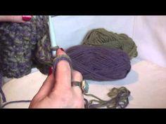 Πανεύκολο κασκόλ με βελόνες !! - YouTube Knitting Patterns, Knitting Tutorials, Dreadlocks, Diy Crafts, Hair Styles, Crochet, Macrame, Youtube, Beauty