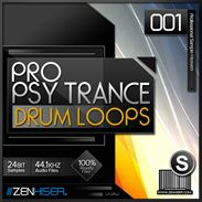 Pro Psytrance Drum Loops 01 from Zenhiser distributed by Loopmasters - http://www.audiobyray.com/product/samplepack-pro-psytrance-drum-loops-01/ - Sample Packs, Zenhiser