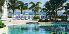 Poolside at St. Kitts Marriott