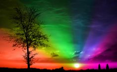 Ohhh I wanna see a sky like this. I my mind it is real – Poster View Wallpaper, Sunset Wallpaper, Colorful Wallpaper, Nature Wallpaper, Wallpaper Backgrounds, Wallpapers, Wallpaper Pictures, Rainbow Art, Rainbow Colors