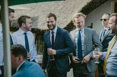 Dornan & Johnson — || New/Old || Jamie at his friend's wedding on...