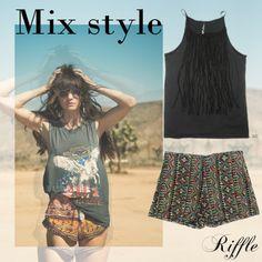 Riffle Jeans - mix estilos primavera verano 2016