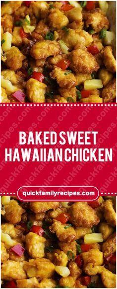 BAKED SWEET HAWAIIAN CHICKEN #baked_sweet_hawaiian_chicken #chickenrecipes #chicken #easyrecipe #delicious #foodlover #homecooking #cooking #cookingtips