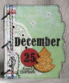 Today, I am sharing my Christmas Mini Album that I made for Magenta in January. While I used the cute bracket December Daily Album. Christmas Mini Albums, Christmas Minis, Christmas Cards, Magenta, Album Maker, Stitch Book, December Daily, Scrap, Snoopy