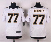 New Orleans Saints #77 Brodrick Bunkley Elite White Men Jer