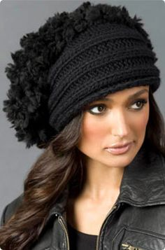 VogueKnitting S. Charles Collezione Dusty Beret Free Knitting Pattern (requires free login)