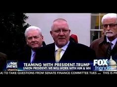 You Will Not Believe The Way In Which This Labor Union Boss Just Praised Presdent Donald J Trump - YouTube