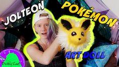 DIY Pokemon Plush ArtDoll (Jolteon Tutorial)