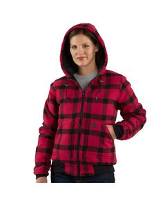 Carhartt Women's Camden Wool Active Jacket   http://www.countryoutfitter.com/products/19326-womens-camden-wool-active-jac