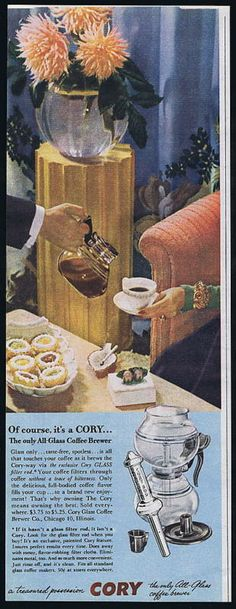 Vintage Coffee Ads at Coffee Bites | thebeanstalker.com