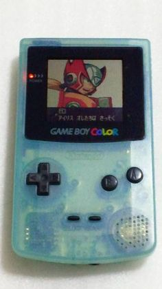 Game Boy Color body ice blue Toys R Us Limited Edition _ image 1