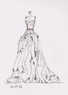 www.etsy.com/shop/dresssketch wedding dress sketches