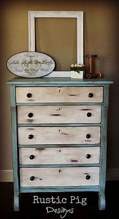 ocean room - love the dresser