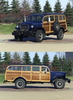 1950 Dodge Power Wagon Campbell Woodie