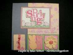 Happy Easter to my peeps card - created with Close To My Heart's Lucy paper packet