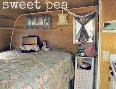 """Vintage Camper """"Sweet Pea"""""""