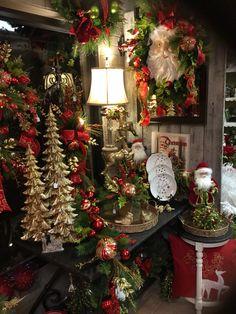 Best Of Christmas Decorations Amazing Christmas Booth, Christmas Mantels, Christmas Store, Christmas Diy, Christmas Displays, Christmas Shopping, Christmas Centerpieces, Xmas Decorations, Christmas Interiors