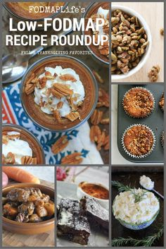 Low FODMAP Fall & Thanksgiving Recipe Round Up | Holiday Food & Entertaining