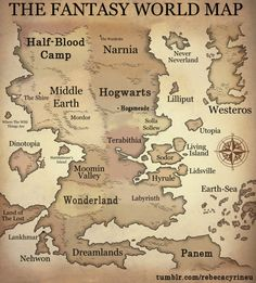 The Fantasy World Map! If only.