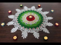 Rangoli designs are an integral part of the Indian culture and is a must in every indian festival. The purpose of rangoli is decoration, and it is thought to. Easy Rangoli Designs Videos, Rangoli Photos, Easy Rangoli Designs Diwali, Simple Rangoli Designs Images, Rangoli Designs Flower, Free Hand Rangoli Design, Small Rangoli Design, Rangoli Border Designs, Diwali Rangoli
