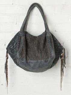 Cecilia De Bucourt Everly Stud Hobo at Free People Clothing Boutique