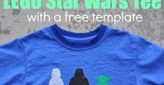 So I mentioned on Sunday that Rex is hitting the Star Wars phase hard. We decided it was time to make a t-shirt. I figured it would be s...
