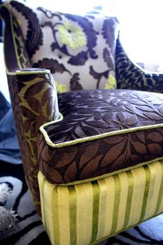 Upholstered Chair Vintage Chair