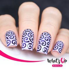 Best 25 Swirl Nail Art Ideas On Pinterest White Tip