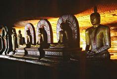 Buddha statues in Dambulla