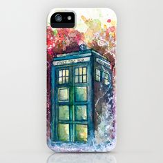 Doctor Who Tardis iPhone & iPod Case @Denise H. H. H. grant Leake @Leslie Lippi Lippi Lippi Riemen Leake