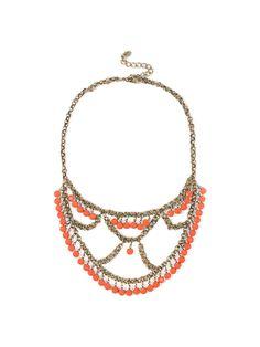 AMYO coral collar