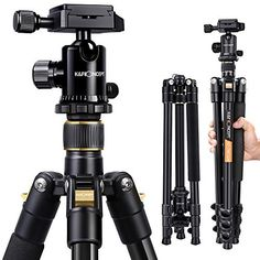#KandF #DSLR #Tripod Nikon Dslr Camera, Camera Tripod, Canon Cameras, Camera Case, Photo Bleu, Convertible, Appareil Photo Reflex, Telephoto Zoom Lens, Thing 1