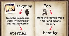 Where did the meaning of your name originate from?