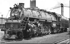 B&O Class T-3c #5587 rests at an unknown terminal during the late 1940s.