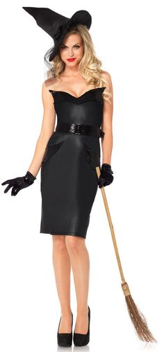 Vintage Witch Adult Costume