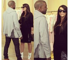 Kimye in NYC happy parents to be