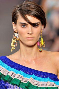 those insane earrings! <3 #missoni