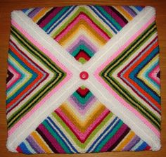 Mitred square cushion cover | Flickr - Photo Sharing!
