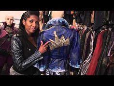 Disney Descendants Costume Goddess Discusses Inspiration - YouTube Evie Carlos Mal Jay